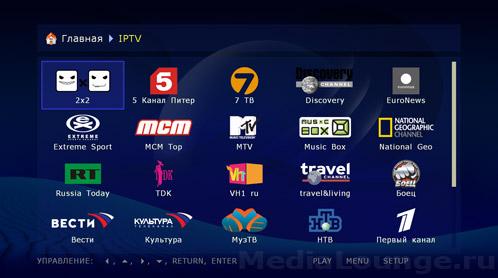 IPTV на Dune HD Mini